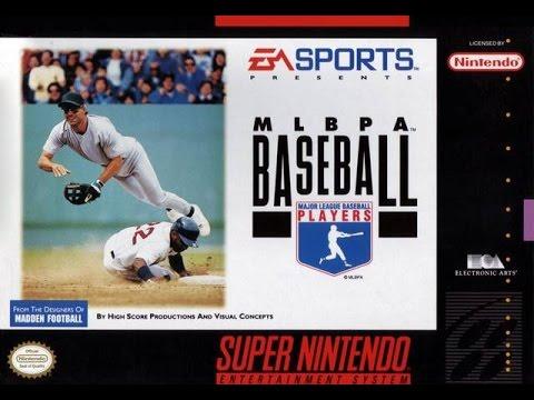 MLBPA Baseball (Super Nintendo)