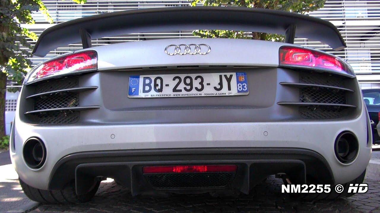 Audi R GT V Lovely Exhaust Sound YouTube - Audi r8 gt