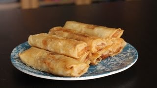 How to Make Turon (Filipino Dessert)