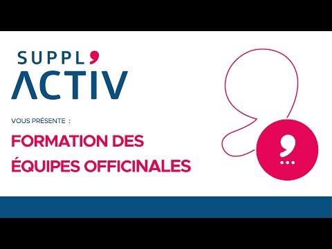 SUPPL'ACTIV présente : Formation des équipes officinales