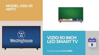 Vizio 50 Inch Led Smart Tv Model: D50-d1 Hdtv