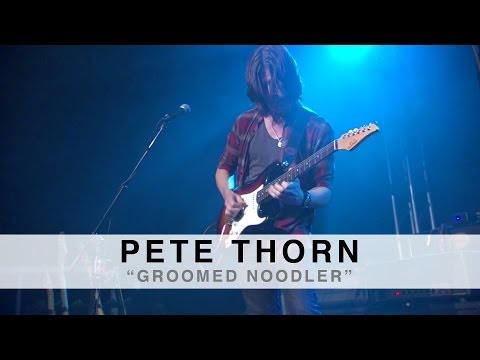 """""""GROOMED NOODLER"""" performed by Pete Thorn at the Suhr 2014 Factory Party"""