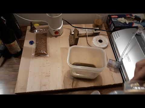 Knochenleim - Vakuum - Holz stabilisieren