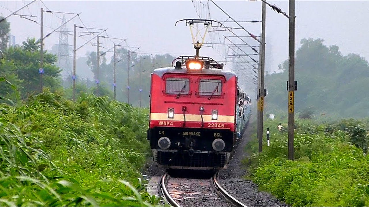 INDIAN RAILWAYS 5000 HP ELECTRiC LoCoMOTIVE