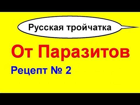 Русская тройчатка от всех паразитов №2. Как приготовить и принимать тройчатку для 100% эффекта
