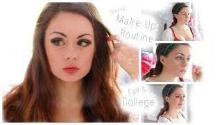 ♡ Updated Daily Make-Up Routine: Fall & College 2014 ♡ Thumbnail