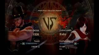 Ruby Rose in Soul Calibur VI | Testing gameplay content