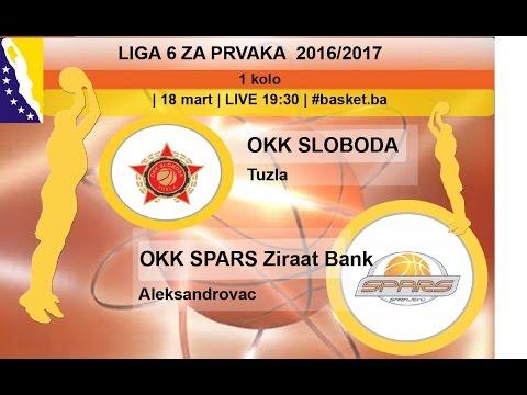OKK Sloboda - OKK Spars Ziraat Bank | LIGA ZA PRVAKA | LIVE 19:30