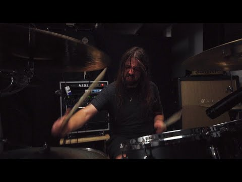 THE AGONIST - Remnants In Time (one take drum playthrough)   Napalm Records