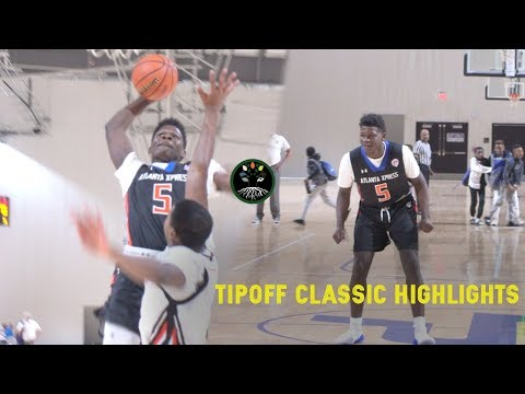 Anthony Edwards Destroys Rim & Defender  ATL Xpress Highlights From LakePoint Tip Off Classic