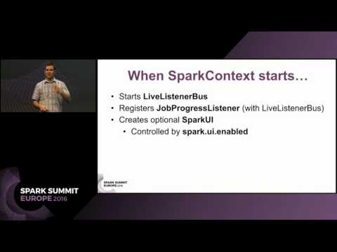 Deep Dive into Monitoring Spark Applications Using Web UI and SparkListeners (Jacek Laskowski)