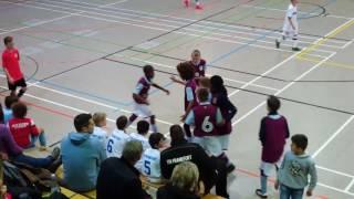 U12 Jhg2005 FSV Frankfurt - Aston Villa FC 1:4; HALBFINALE Mini-Lilien-Cup 2017 Mainz