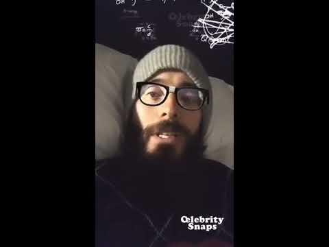 Jared Leto Instagram Live Stream | 8 November 2017 |