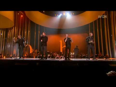 Westlife - What About Now - Live Nobels Peace Prize Concert 2009
