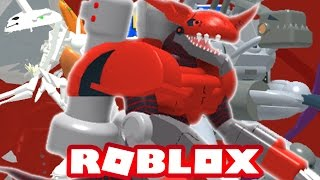 Digimon Aurity - Digivolving à Chaosdramon!!! (Roblox Gameplay)