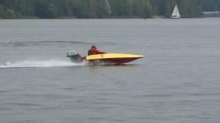 3-й этап чемпионата Республики Беларусь по водно-моторному спорту. Класс спорт - заезд на 10 миль.
