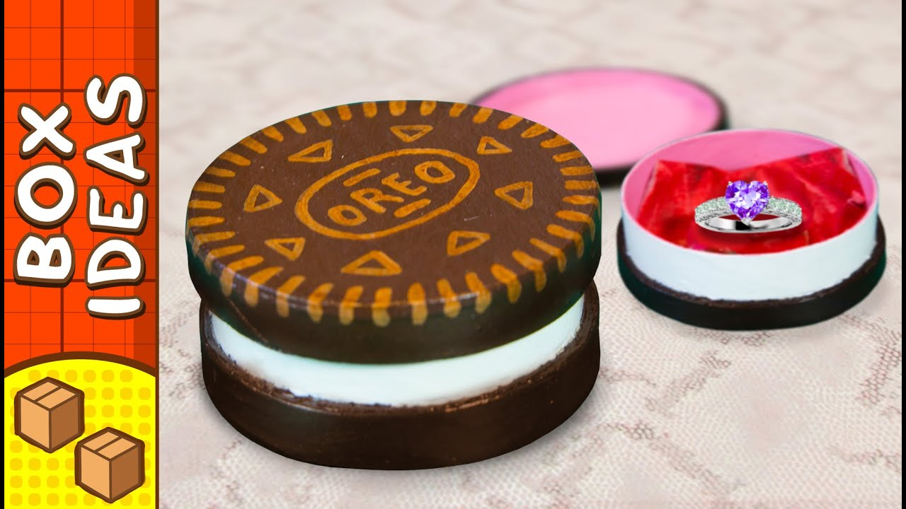 DIY Oreo Gift Box | Craft Ideas For Kids on Box Yourself ... - photo#5