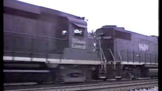Illinois Central: 1990 - Single Tracking The Mainline Of Mid-America