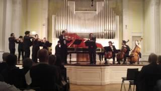 J.S. Bach. Brandenburg Concerto No.5. I. Allegro
