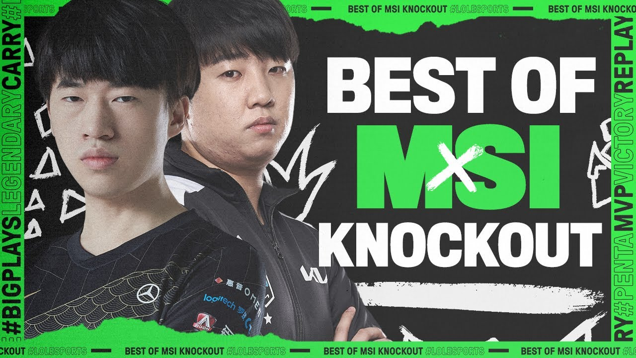 The BEST of MSI Knockouts | League Mixtape