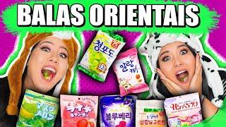 EXPERIMENTANDO BALAS ORIENTAIS | Blog das irmãs
