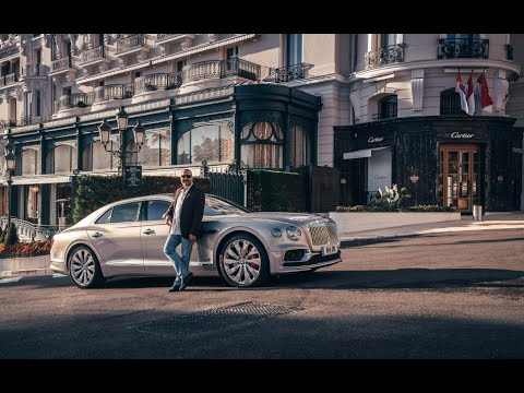 Bentley Flying Spur _ بنتلي فلايينج سبير الجديدة بالكامل