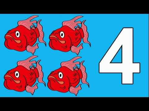 Fishy Numbers 1 to 10: Count Fishy Numbers 1 to 10 Stories for Children Books Edu Early Learning