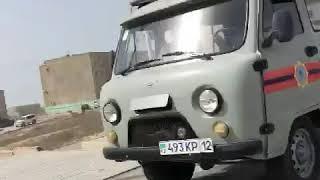 В Актау автомашины с громкоговорителем информируют о мерах безопасности
