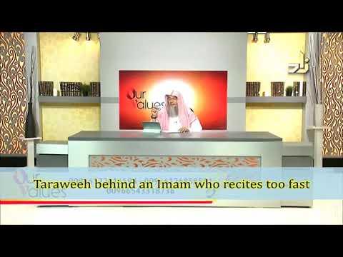 Taraweeh behind an Imam who recites very fast - Sheikh Assim Al Hakeem