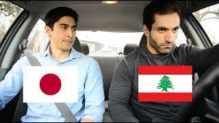 How Lebanese People Drive Vs How Japanese People Drive (FRAJALICAN ep 7)
