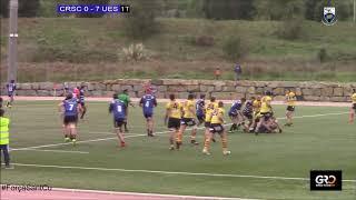 20181117 Senior DHB B Club Rugby Sant Cugat vs UE Santboiana B