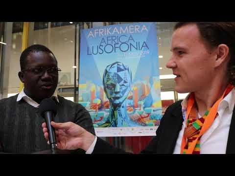 Burkinabe film maker Michael K. Zongo talks to ANA's Niels Bartels in Berlin, Germany.