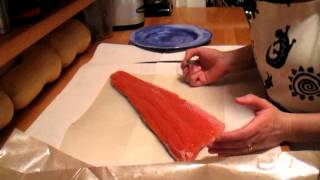 2012 9 Wild-Caught Coho Salmon Prep and and Cooking