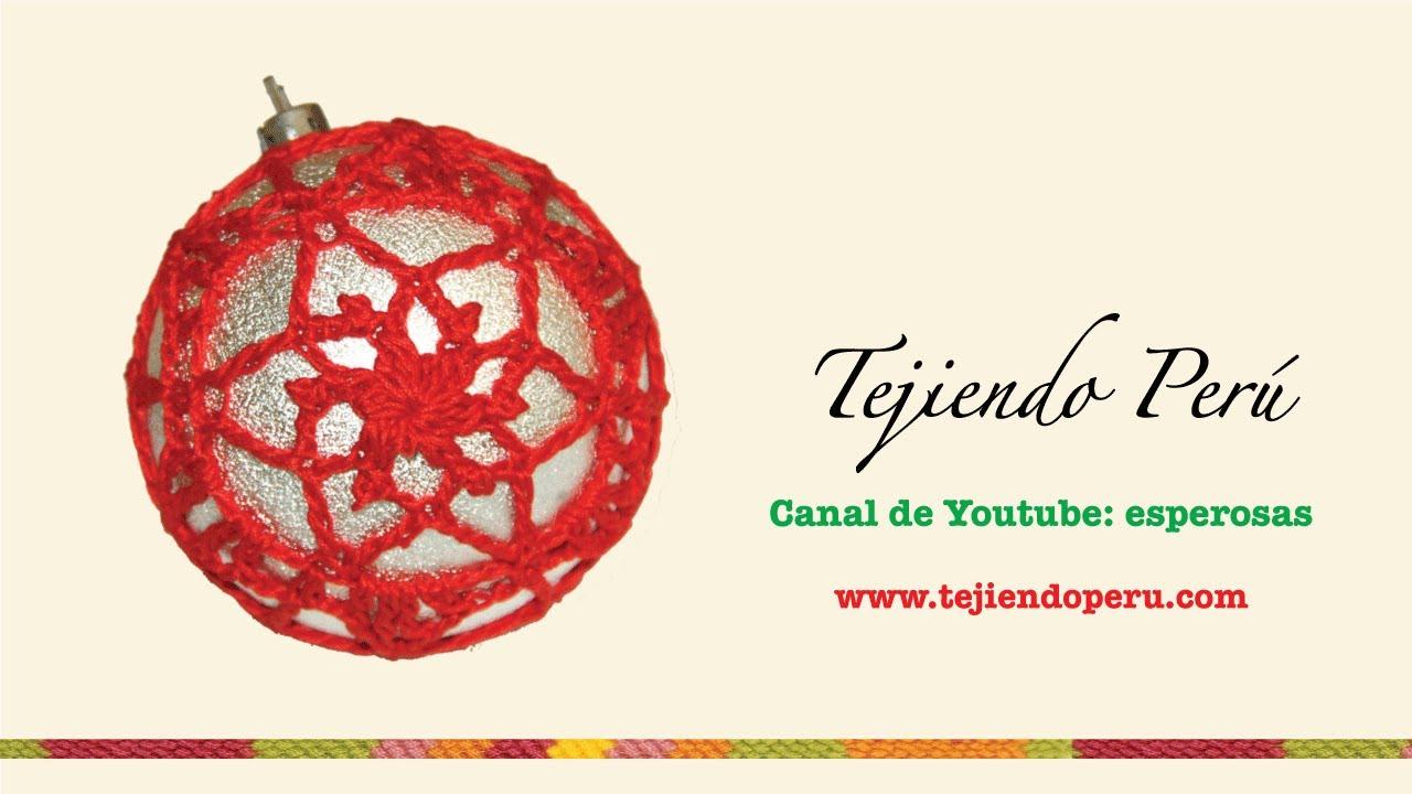 Excepcional Crochet Patrones Adornos De Bolas De Navidad Composición ...