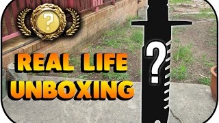 Real Life CSGO Knife UNBOXING!