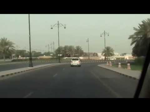 Drive to Muscat Airport: 18/07/14