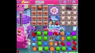 Candy crush level 1244 HD (no booster) success
