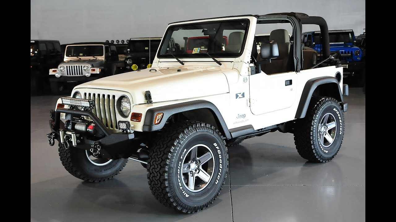 Jeep Wrangler Tj >> Davis AutoSports 2005 Jeep Wrangler TJ Lifted & Modified 70k 7/28/15 - YouTube