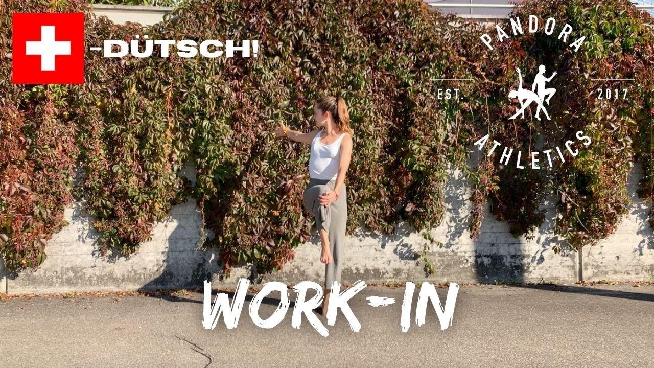 Mach mit! 8 Min Work-In mit Patrizia & Dave