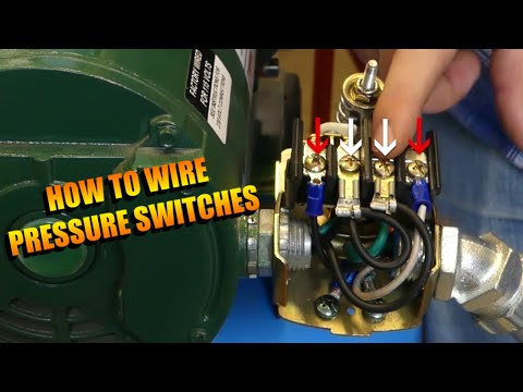how to wire a pressure switch - youtube  youtube