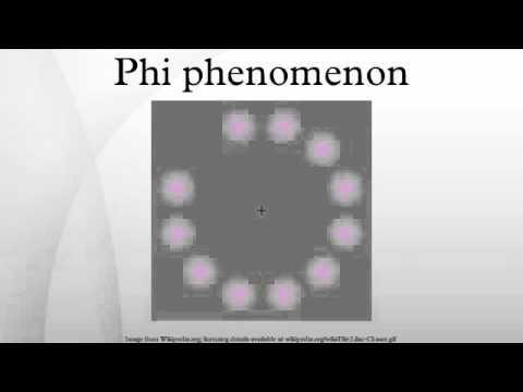 Phi phenomenon