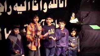 Muharram 28 1432 - Kids Noha in English - Ya Shaheed Imam Hussain AS