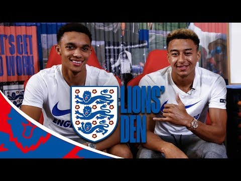 Jesse Lingard and Trent Answer Fan Questions! | Lions Den | England vs Spain