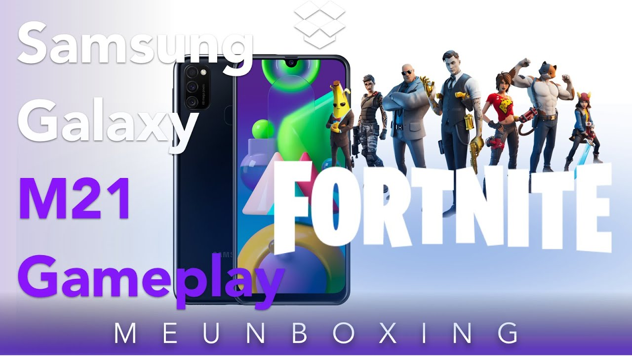 Samsung Galaxy M21 Fortnite GamePlay #Fortnite #GalaxyM21