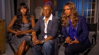 Naomi Campbell and Iman Demand Diversity on Runway