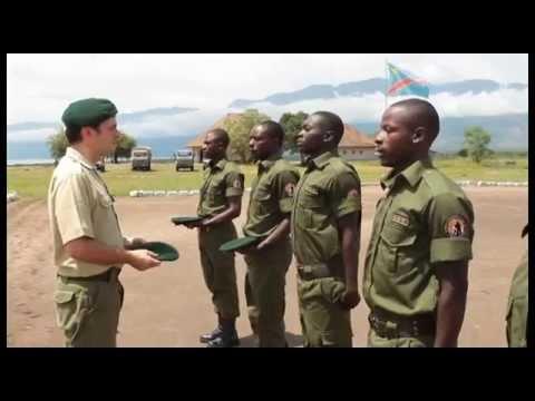 Ishango Ranger training Closing Ceremony (Virunga National park)