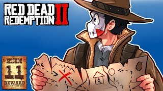 I FOUND TREASURE & HUNTED LEGENDARY WOLF & BOAR - RED DEAD REDEMPTION 2 - Ep. 11!