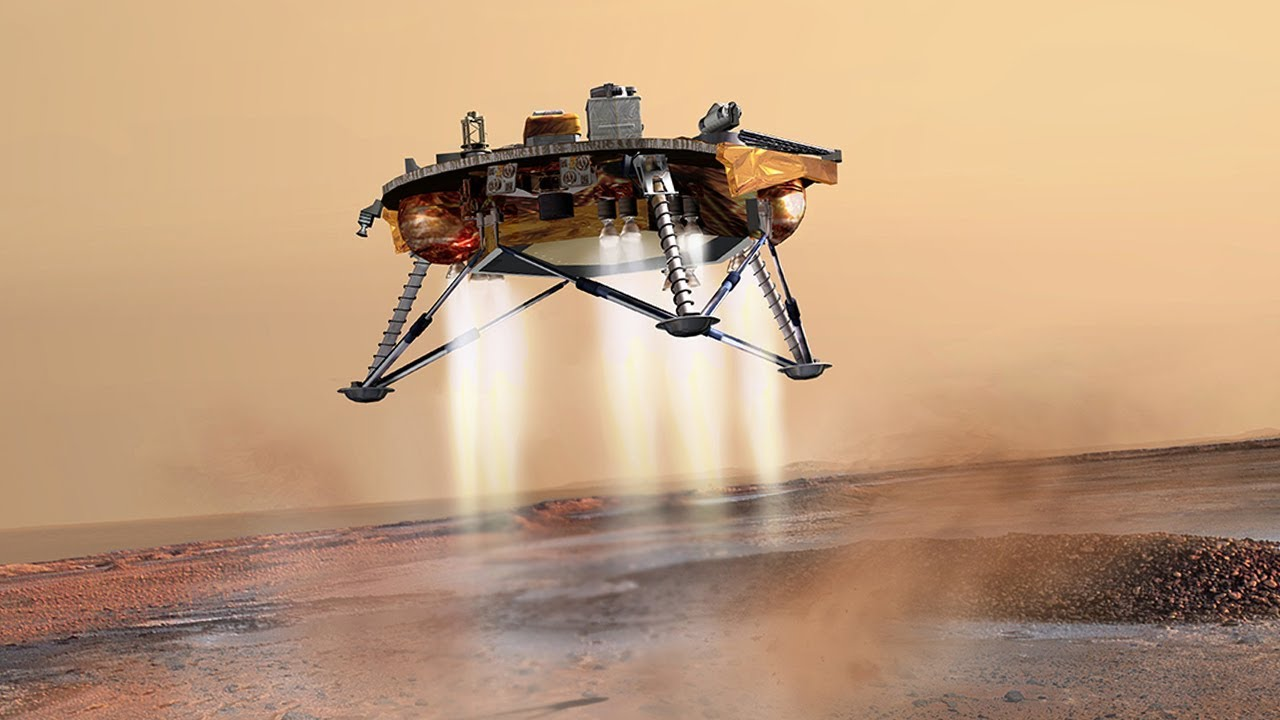 InSight Atterrissage de #SEISsurMars (trailer) - YouTube