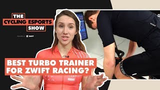 The Cycling Esports Show: Best Turbo Trainer For Zwift Racing?
