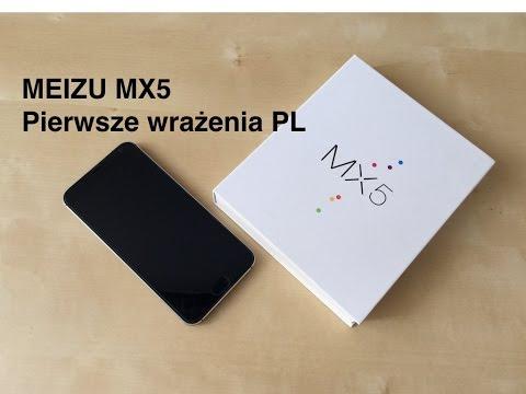 Meizu MX5 Pierwsze Wrażenia Hands On PL [1080p]